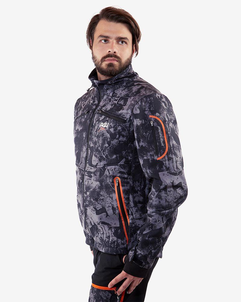 Jaktjacka kamouflage, supreme jacket herr