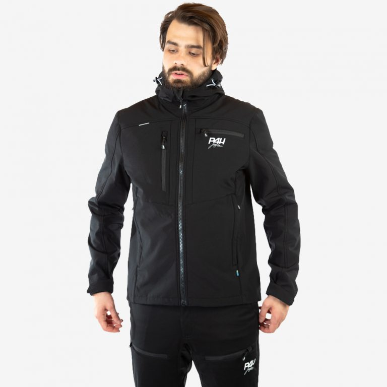 Friluftsjacka, extreme hybrid jacket black, herr