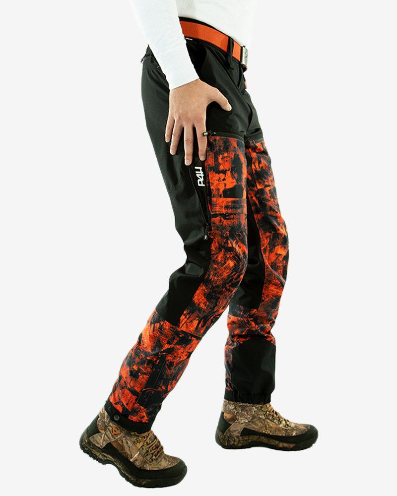 Jaktbyxa Stretch, power pants, blaze camo
