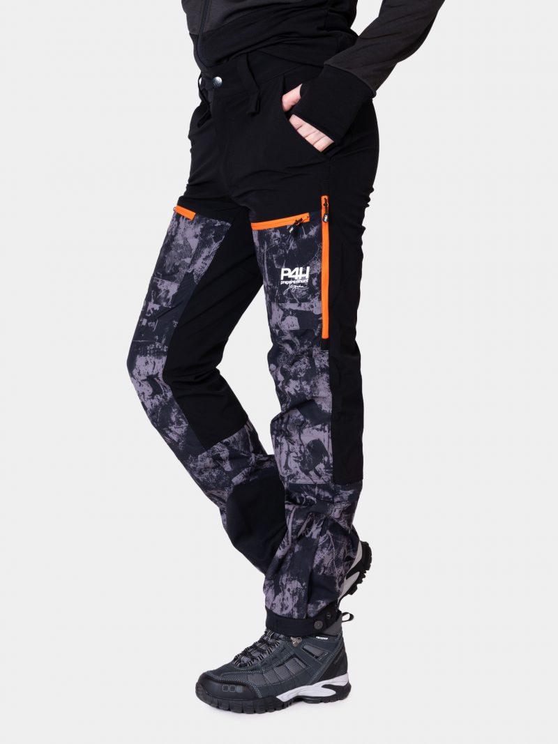 p4h power pants black camo, dam