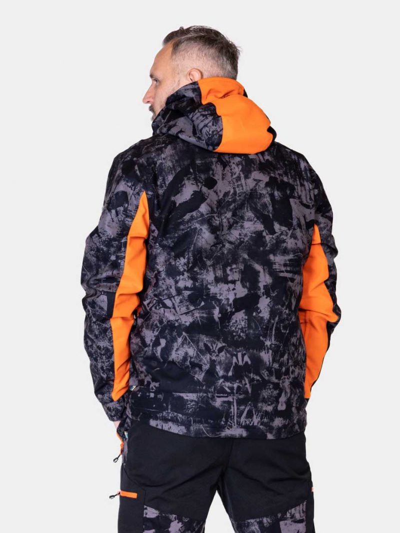 Jaktjacka Herr Camouflage, Hunters Elite Jacket, Black Camo