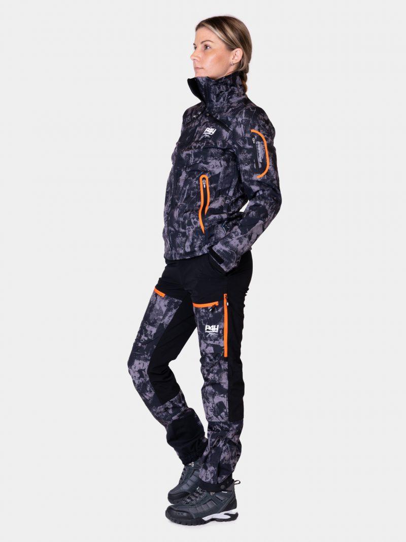 P4H Supreme Jacket, Black Camo, Dam
